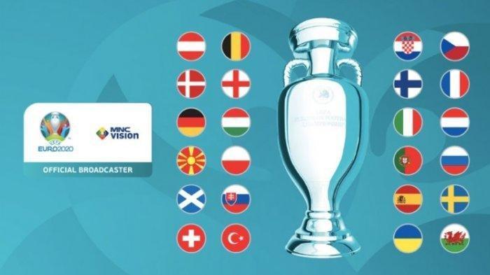Jadwal Babak 16 Besar Euro 2020, ini Daftar Tim yang Akan Berlaga di Fase Knock Out - Tribun Timur