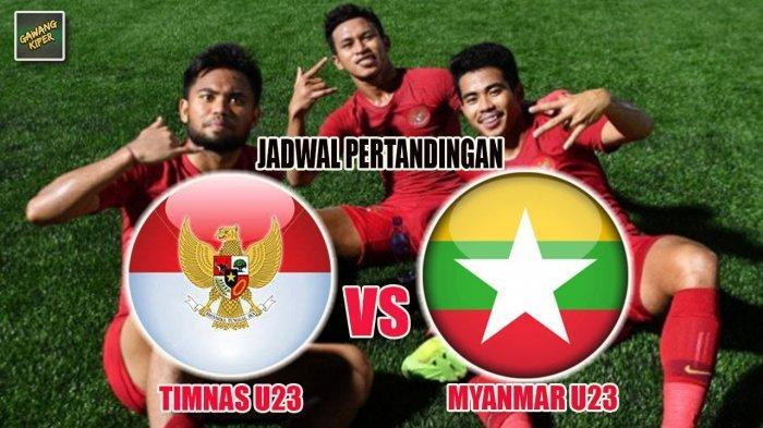 Jadwal Timnas U-23 Indonesia Vs Myanmar Semifinal SEA Games 2019, Garuda Muda Pernah Menang 3-1