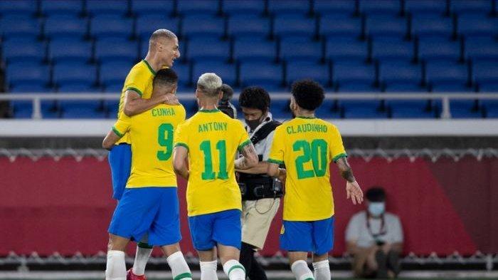 SEGERA TAYANG Siaran Langsung Brasil vs Arab Saudi Olimpiade Tokyo, Prediksi Skor & Susunan Pemain