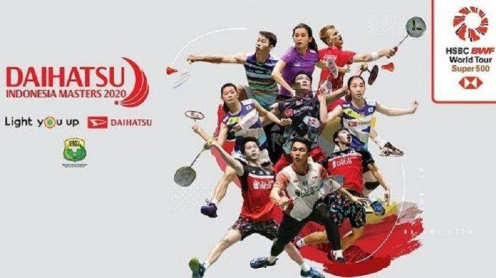 Jadwal Indonesia Masters 2020, Live Streaming TVRI & YouTube BWF, Marcus/Kevin & Ahsan/Hendra