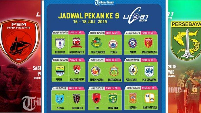 Prediksi Skor Persib Bandung vs Kalteng Putra, Arema FC vs Perseru, PSM Makassar vs Persebaya Jadwal