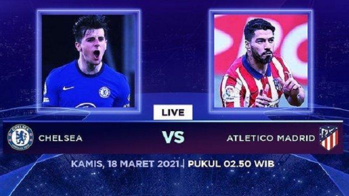 JADWAL Liga Champions Chelsea vs Atletico Madrid & Bayern Munchen vs Lazio Live Streaming SCTV