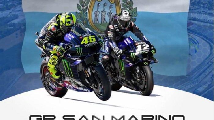 Jadwal Live MotoGP 2020 San Marino, Rossi Harus Puas Start No 4, Maverick Vinales 1 Live Trans 7