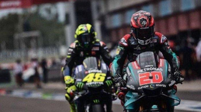 Jadwal MotoGP 2020 Live Trans 7, Fabio Quartararo Gantikan Peran Rossi, The Doctor ke Tim Satelit?