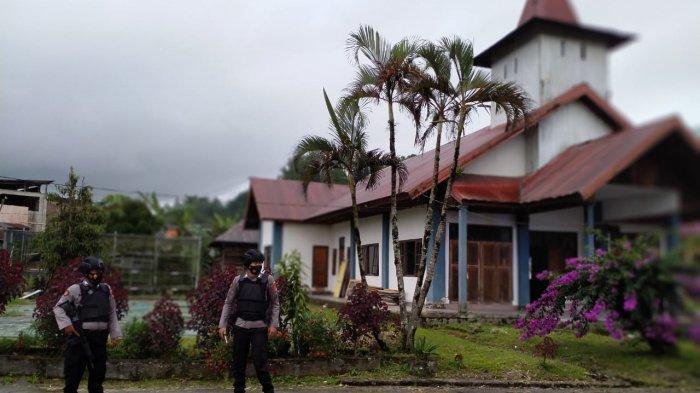 Polda Sulawesi Barat Perketat Perbatasan dari Arah Palu Sulawesi Tengah Pasca Bom Gereja Makassar