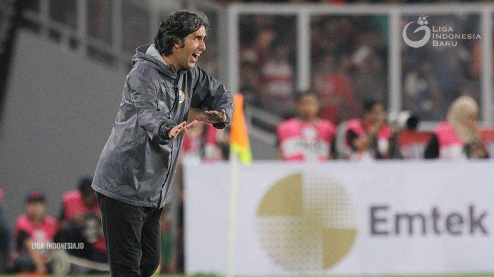 Lawan Mitra Kukar, Pelatih Persija Akui Sulit Hadapi Tim yang Terancam Degradasi