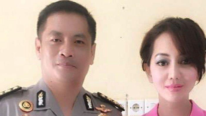 Jaksa Pinangki Sinarmalasari dan suaminya, Kombes Pol Napitupulu Yogi.