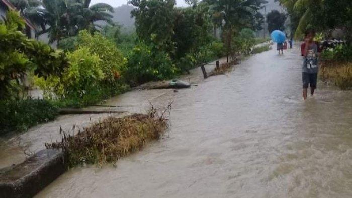 Luwu Banjir Lagi, Dusun Homebase Desa Buntu Batu Terendam