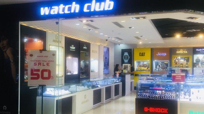 Jam Tangan di Watch Club MaRI Diskon 50 Persen
