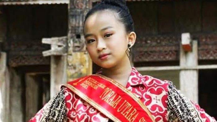 Profil Jelov Thalia Matarru, Gadis Toraja Wakil Sulsel di Putri Cilik Indonesia 2021
