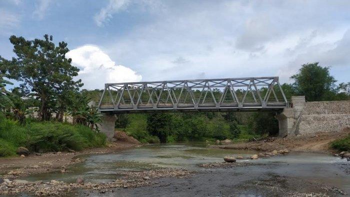 Senangnya Warga Kalamisu Sinjai Dibangunkan Jembatan, Tak Lagi Khawatir Saat Terjadi Banjir