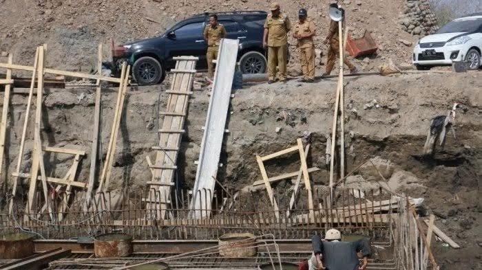 Sudah Habiskan Anggaran Puluhan Miliar, DPRD Bulukumba Minta Pembangunan Jembatan Bialo Dilanjutkan