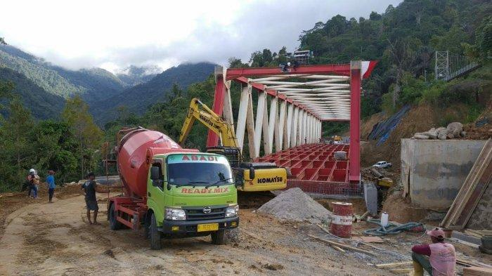 Kondisi Terkini Jembatan Penghubung Palopo-Toraja Utara, Target Rampung Akhir Agustus