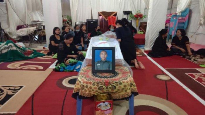 Isak Tangis Sambut Jenazah Theofilus Calon Prajurit TNI yang Tewas di Malino