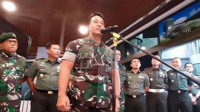 Jenderal Andika Perkasa Digadang Jadi Panglima TNI, Anak Buah Megawati Sebut Masa Jabatannya Pendek
