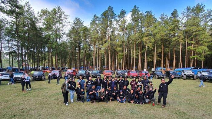 Komunitas Jeep Wrangler JK Owner Celebes Touring Keluarga