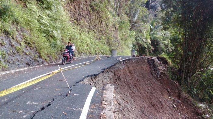 Jalan Longsor di Bontokatute, Dinas PUTR Sulsel Desak Rekanan Proyek Turun Tangan