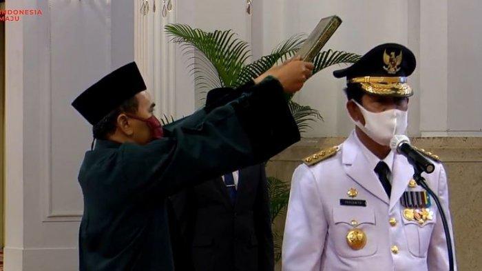 Gubernur Kepri Isdianto dan 5 Staf Positif Covid-19 Sepulang dari Jakarta Setelah Dilantik Jokowi