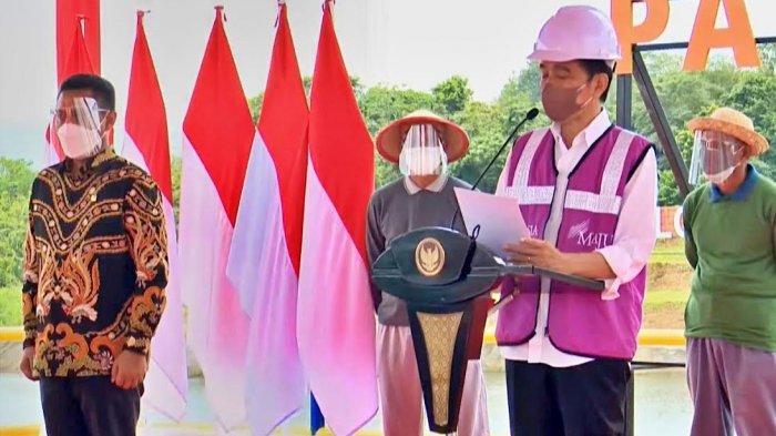 Jokowi Resmikan Bendungan Paselloreng Wajo, Suplai Air Petani Hingga 8.510 Hektar