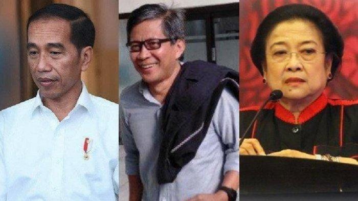 Jokowi Tinggalkan Megawati & PDIP, Bentuk Partai Baru? Ini Ulasan Pengamat Politik Rocky Gerung