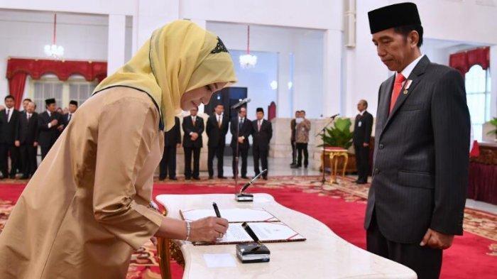 Jokowi Pecat Tidak Hormat Komisioner KPU RI Evi Novida, Sempat Diperiksa KPK Juga soal Harun Masiku