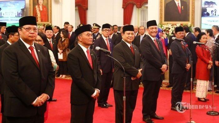 Hari Ini Presiden Jokowi Reshuffle Kabinet, 6 Nama Menteri Akan Diganti Termasuk SYL?