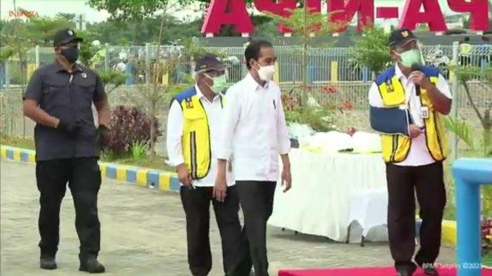 Presiden Jokowi Tiba di Kolam Regulasi Nipa-nipa