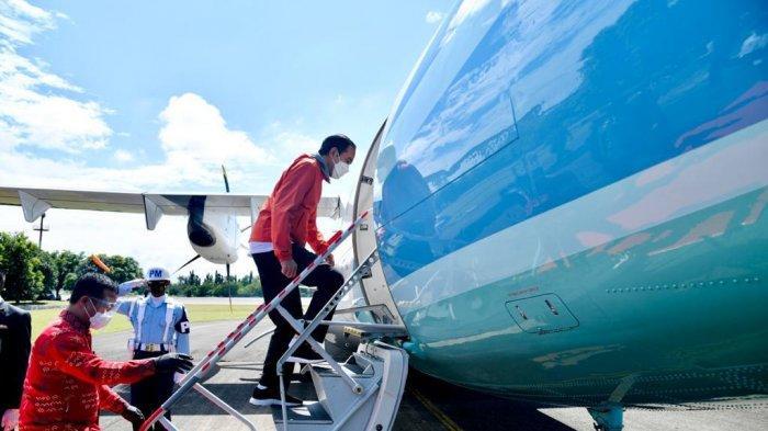 Meski Mesin Baling-baling, Ini Kecanggihan Pesawat CN-295 Antar Jokowi ke Toraja Sulawesi Selatan