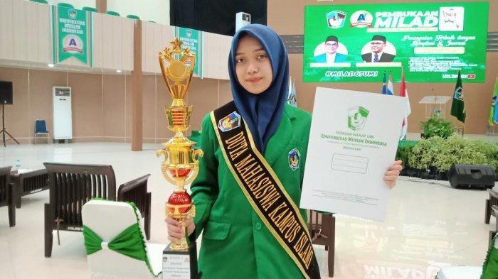 Kenalkan Syarifah Trya Nur Nahdiah, Juara 1 Putri Duta Mahasiswa Kampus Islami UMI 2021