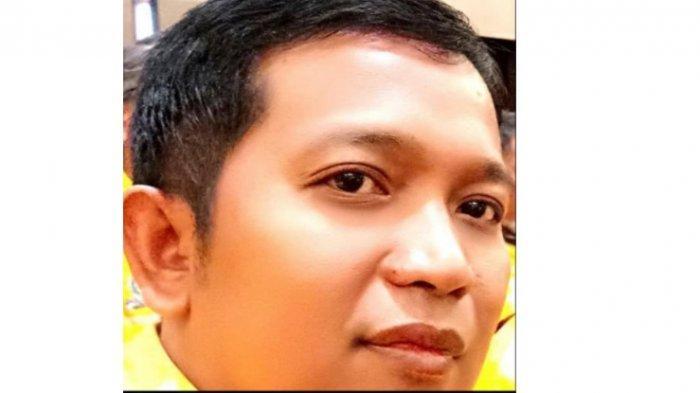 Anggota Fraksi Golkar DPRD Soppeng, Syamsuddin. Ia juga merangkap Jubir Andi Kaswadi Razak-Luthfi Halide di Pilkada Soppeng
