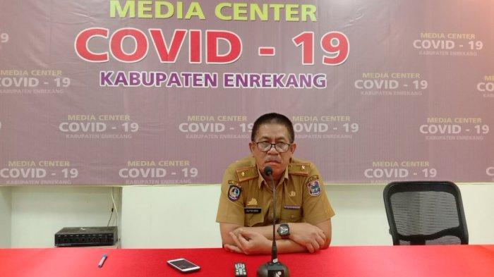 Kasus Positif Covid-19 di Sudah Capai 95 Kasus, Kecamatan Enrekang Terbanyak
