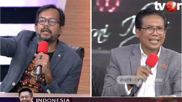 Siapa Diskak Mat di ILC TV One Tadi Malam? Jubir Jokowi Debat Panas dengan Harris Azhar Bahas Corona