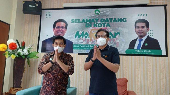 HMPI Korwil Sulsel Sambut Kedatangan Jubir Presiden di Makassar