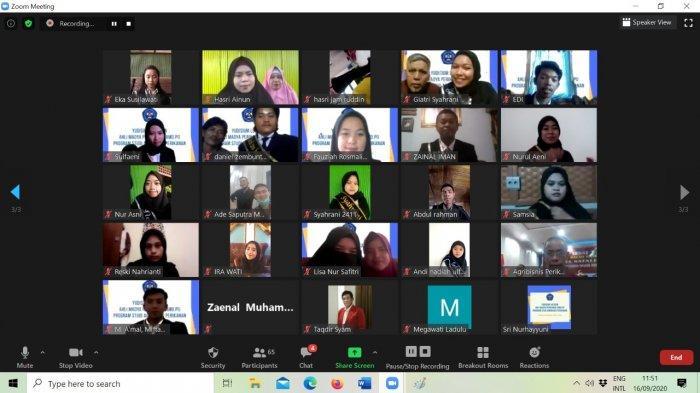 58 Lulusan Agribisnis Politani Pangkep Ikut Proses Yudisium Virtual, Pesan Ketua Jurusan Mauli Kasmi
