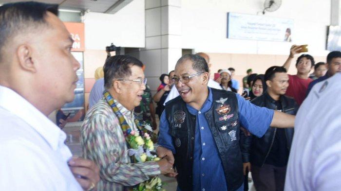 Ilham Arief Sirajuddin, Aliyah Mustika Ilham, Nurdin Abdullah Jemput Mantan Wapres Jusuf Kalla - jusuf-kalla-di-makassar-2-26102019.jpg