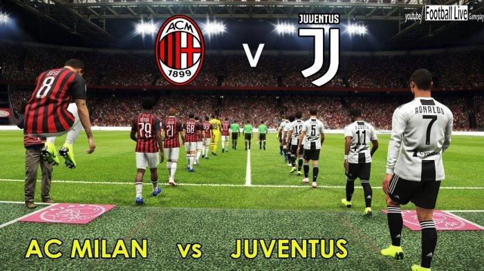 LINK LIVE STREAMING USeeTV Juventus vs AC Milan Malam ini Jam 02.00, Leg 2 Semifinal Copa Italia