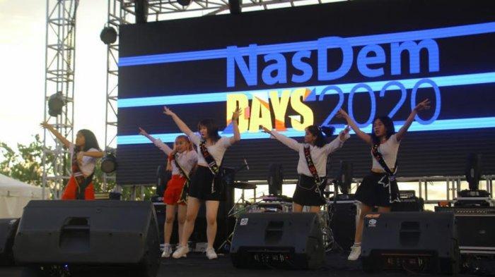K-Pop Dance Cover Competition 'Guncang' Panggung Nasdem Days 2020