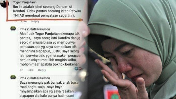 KABAR BAIK Irma Nasution, Poin Ini Bisa Loloskan Istri Eks Dandim Kendari dari Jerat Hukum UU ITE