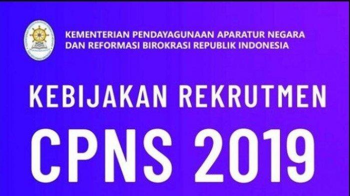 KABAR BURUK Rekrutmen CPNS 2019 Oktober, Formasi Kementerian/Lembaga Bisa Berubah, Penjelasan BKN