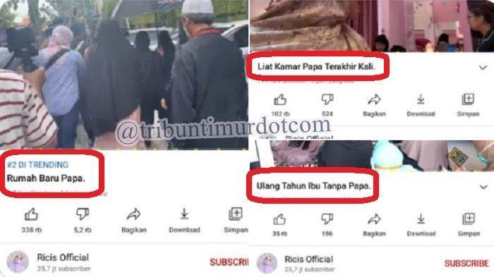 Kabar Buruk Ria Ricis Adik Ustazah Oki, Dihujat usai Bikin 5 Konten Video YouTube soal Kematian Ayah