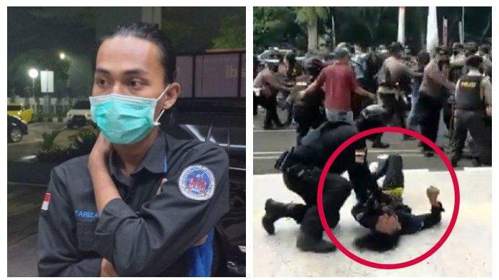 Kabar Terbaru Mahasiswa yang Dibanting Polisi saat Demo, Ini Hasil Pemeriksaan Dokter