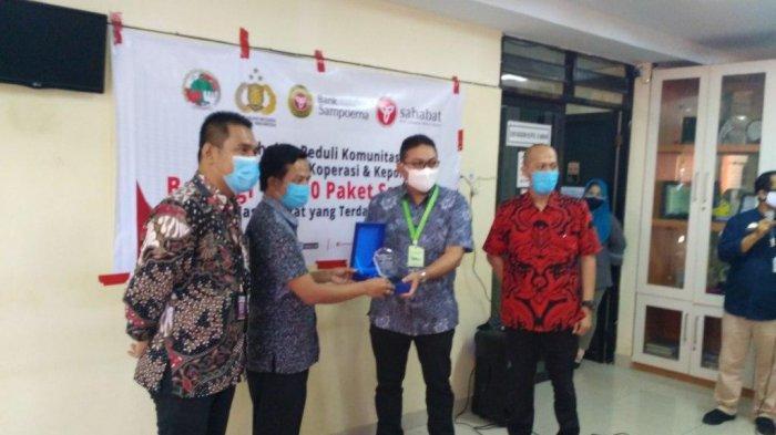 KSP SMS Salurkan Bantuan Sembako, Kadis Koperasi Sulsel: Sejalan Visi Kementerian Koperasi