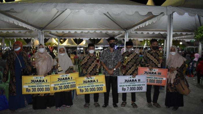 Bone Juara 2 STQH XXXII Sulsel, Kirim Tiga Utusan ke MTQ Nasional