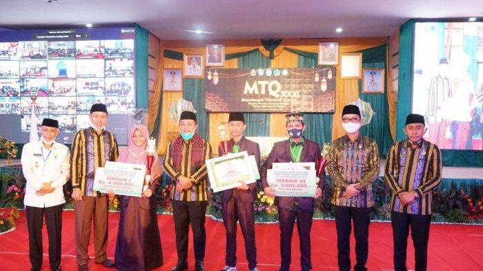 Kafilah Pangkep Juara MTQ Dapat Hadiah Umrah dari Bupati
