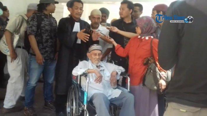 Berkah HUT Kemerdekaan Ke-73 RI, Kakek 88 Tahun Ini Divonis Bebas, Ternyata Pejuang Gerilya!