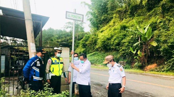 Hari Terakhir Menjabat, Kalatiku Paembonan Ganti 207 Nama Ruas Jalan di Toraja Utara
