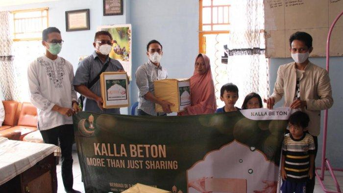 Berbagi di Bulan Ramadhan, Kalla Beton Santuni Tiga Panti Asuhan di Makassar