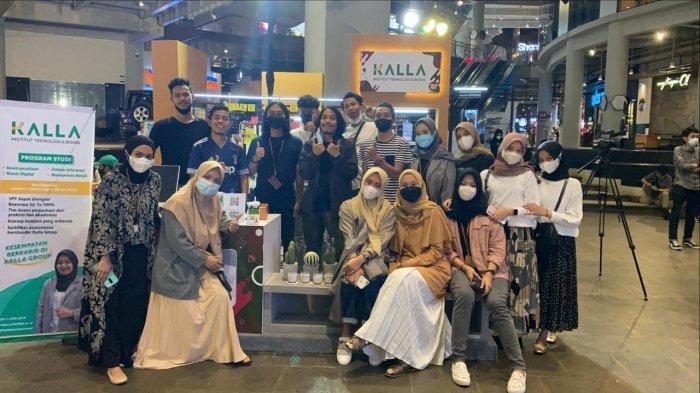 Hari Terakhir Kalla Fair, Pendaftar ITBK 34 Orang