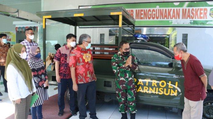 Mobil Patroli Garnisun Kodim Makassar Bertambah, Bantuan Kalla Group