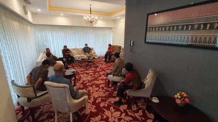 Kalla Grup dan Plt Gubernur Sulsel Bahas Penanganan Covid-19